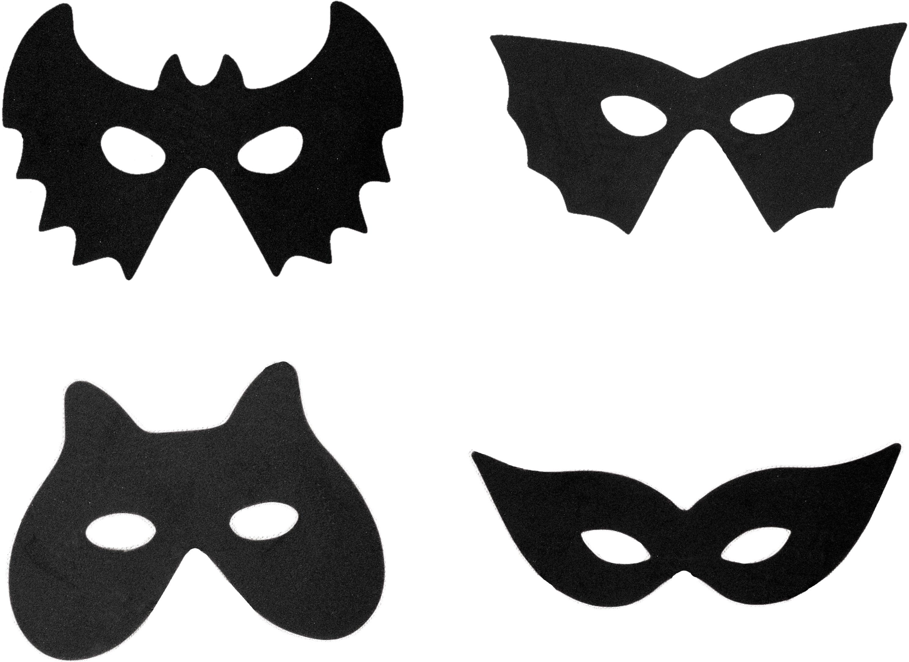 Жуткие маски для мрачного Хэллоуина. Мастер-класс и видео