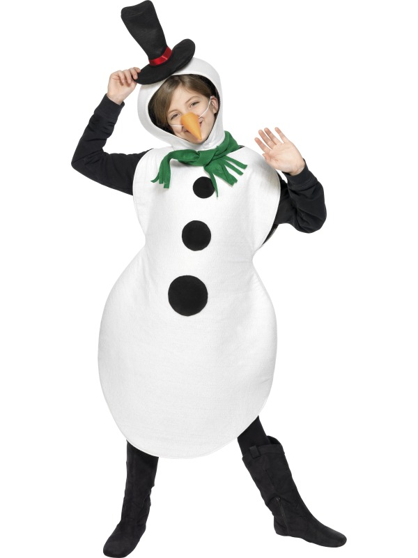 Костюм взрослый снеговика как сделать своими руками